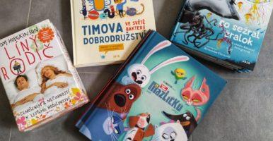 Nové knížky pro děti a dospěláky